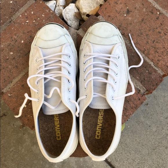 8d4eca0b3091ef Converse Shoes - Converse Jack Purcell Unisex white leather shoes